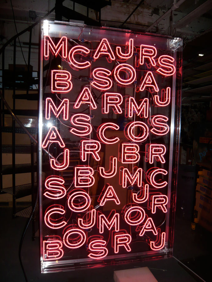 Marc Jacobs Store Signage