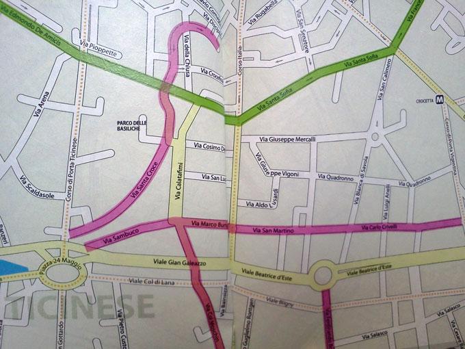 AreaBC – Milano Bike Map